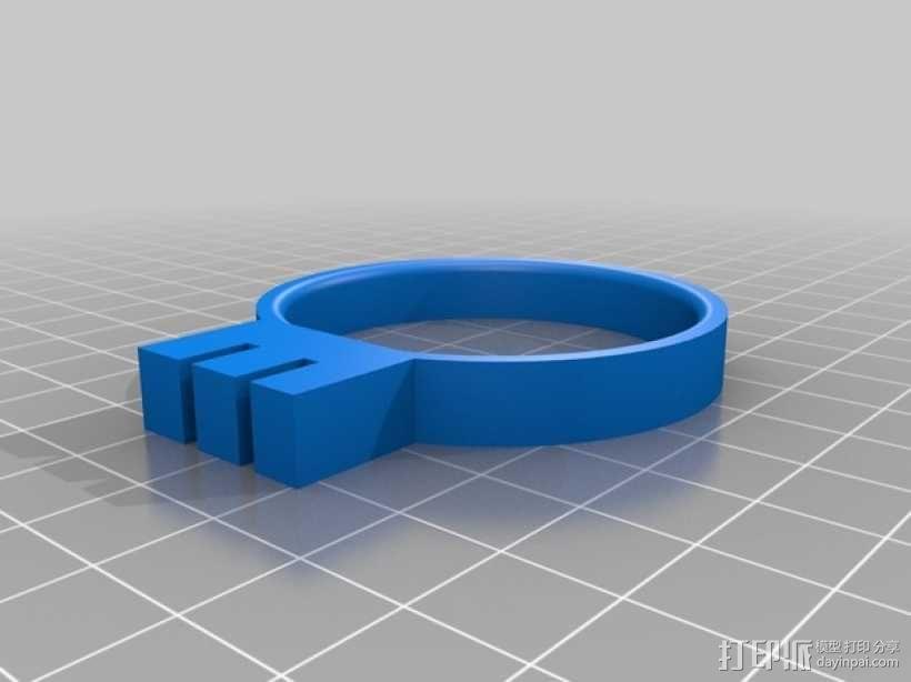"""""""龙卷风""""手榴弹架 3D模型  图5"""