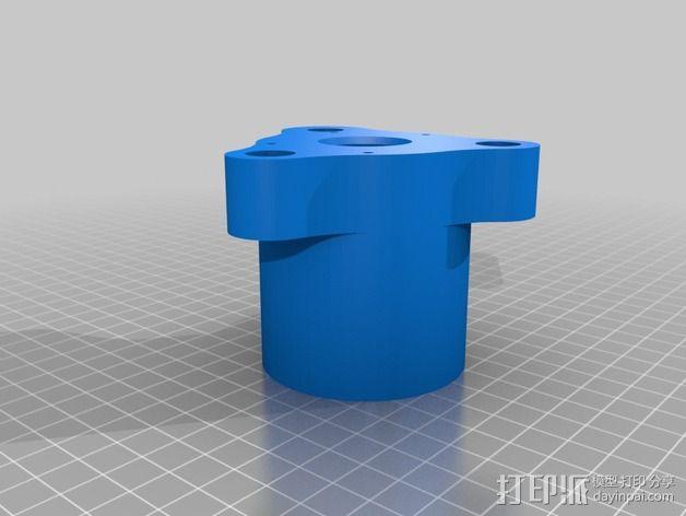 Mule数控铣床 3D模型  图5