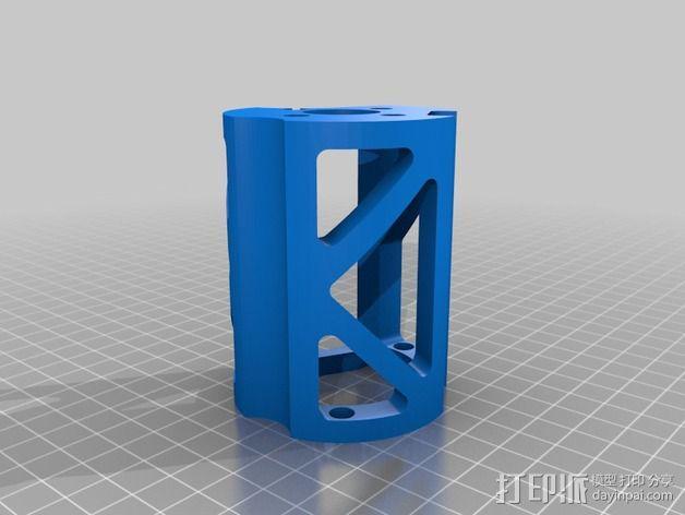 Mule数控铣床 3D模型  图6