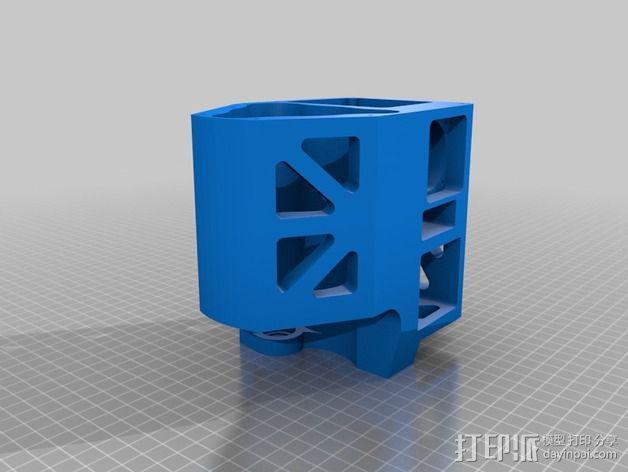 Mule数控铣床 3D模型  图8