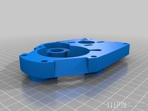 Mule数控铣床 3D模型  图9