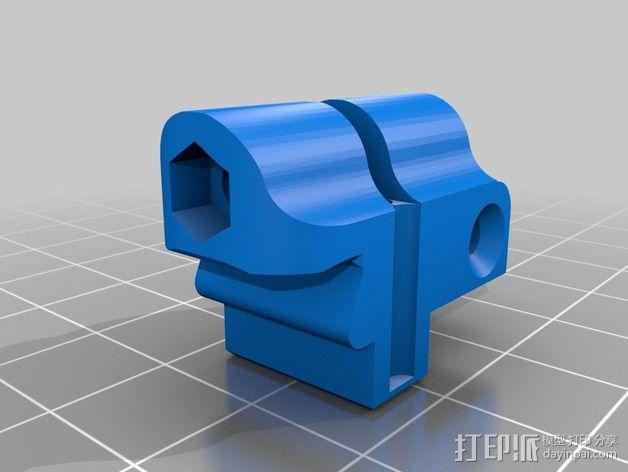 Mule数控铣床 3D模型  图11