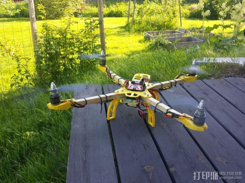 Farlig 550四轴飞行器 3D模型  图1