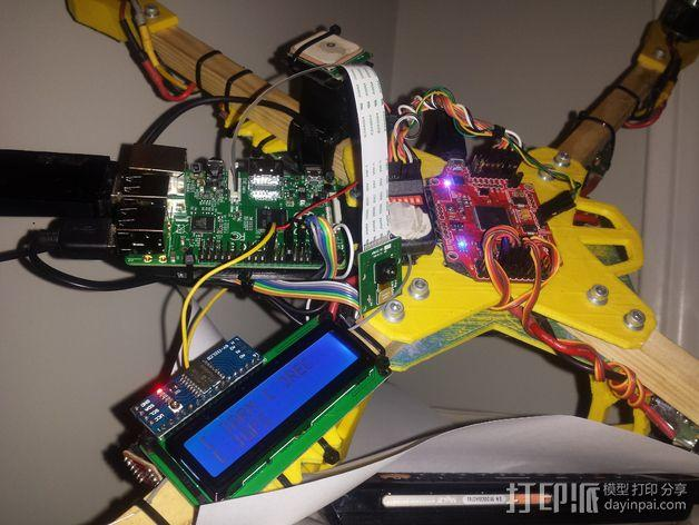 Farlig 550四轴飞行器 3D模型  图2