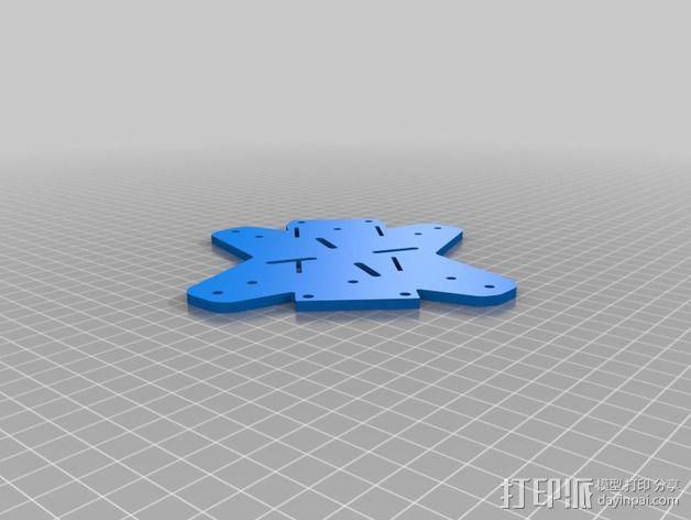 Farlig 550四轴飞行器 3D模型  图7