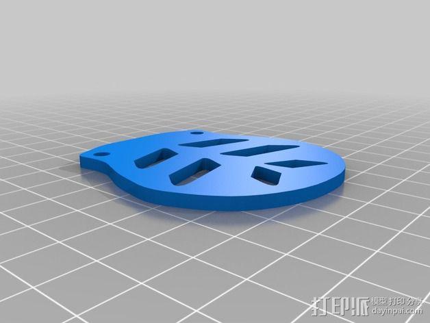 Farlig 550四轴飞行器 3D模型  图8