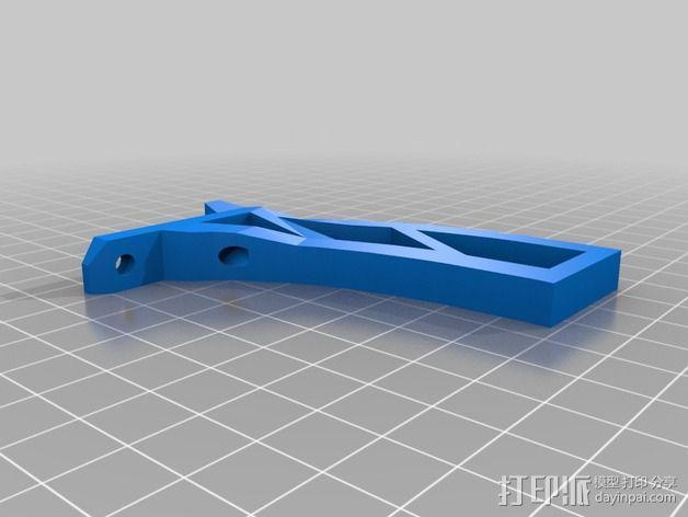 Farlig 550四轴飞行器 3D模型  图9