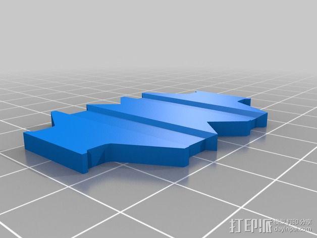 Farlig 550四轴飞行器 3D模型  图15