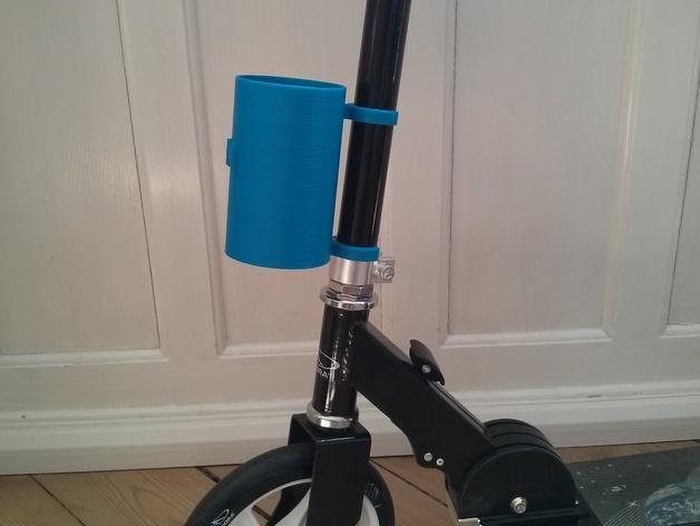 滑板车 水瓶架 3D模型  图1