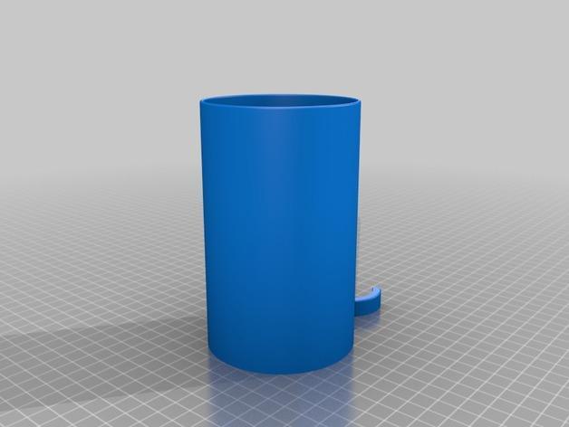 滑板车 水瓶架 3D模型  图2