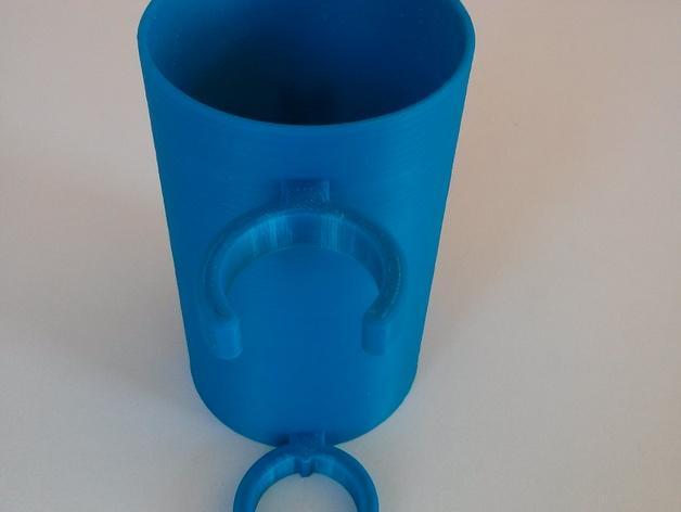 滑板车 水瓶架 3D模型  图4