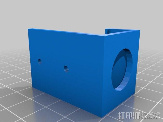 Tarot T-2D多轴飞行器 Fat Shark 600TVL相机架 3D模型  图3