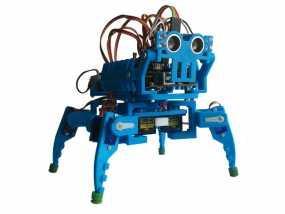 迷你四足机器人 3D模型