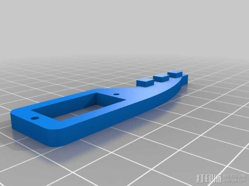 迷你四足机器人 3D模型  图6