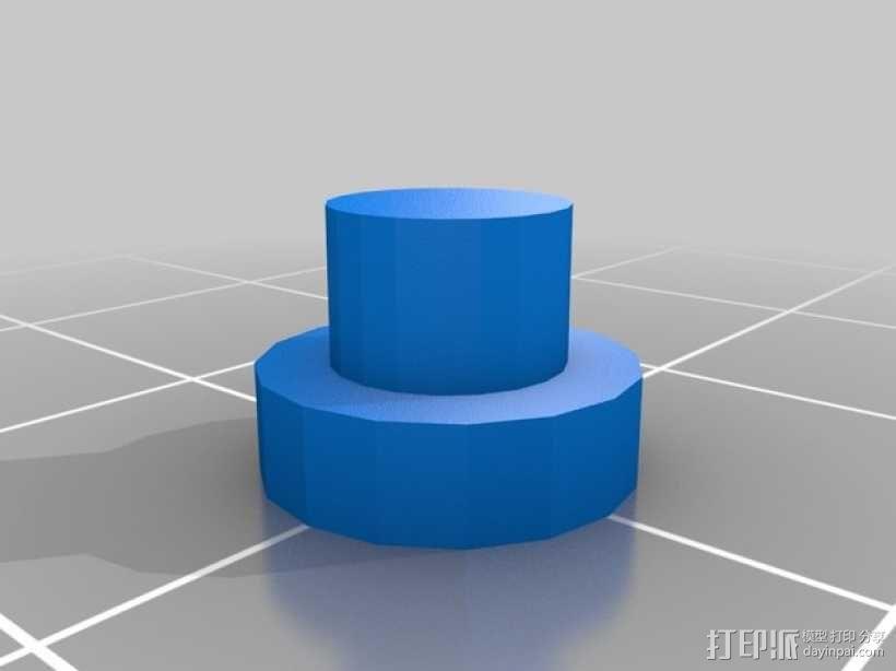 迷你四足机器人 3D模型  图8