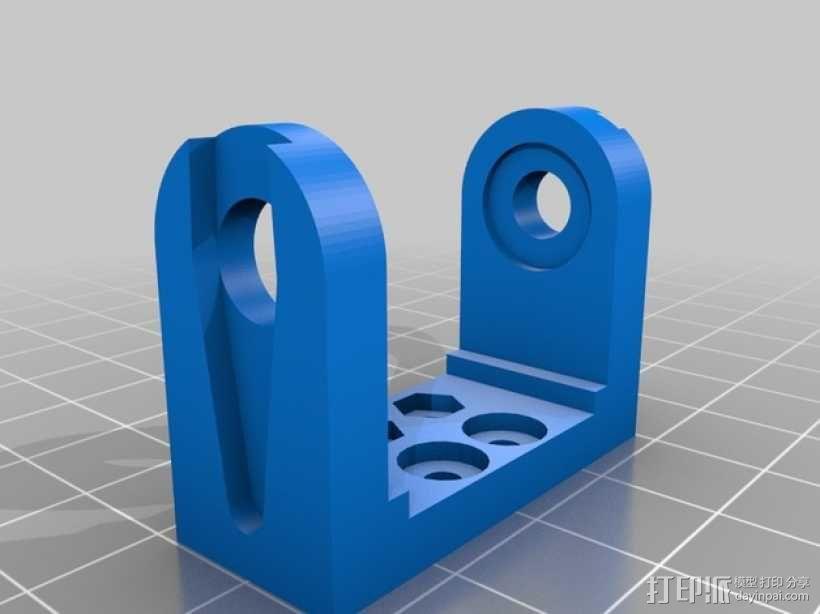迷你四足机器人 3D模型  图10