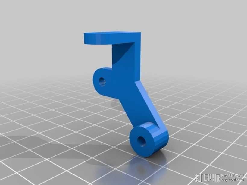 迷你四足机器人 3D模型  图13