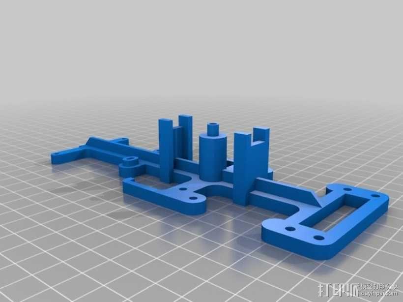 迷你四足机器人 3D模型  图15