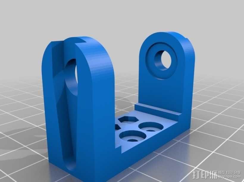 迷你四足机器人 3D模型  图17