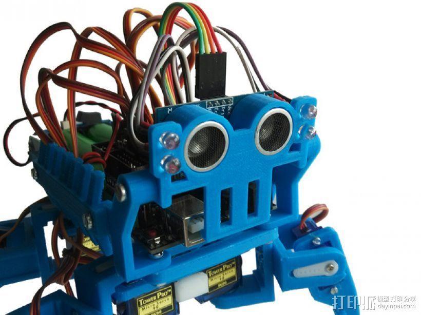 迷你四足机器人 3D模型  图19