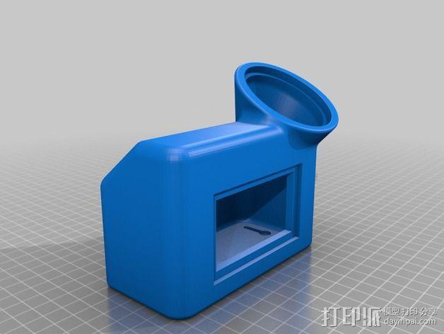 太阳能灯零部件 3D模型  图3