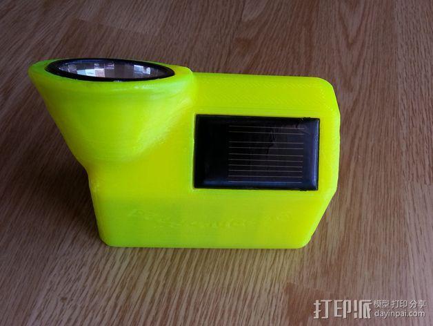 太阳能灯零部件 3D模型  图5