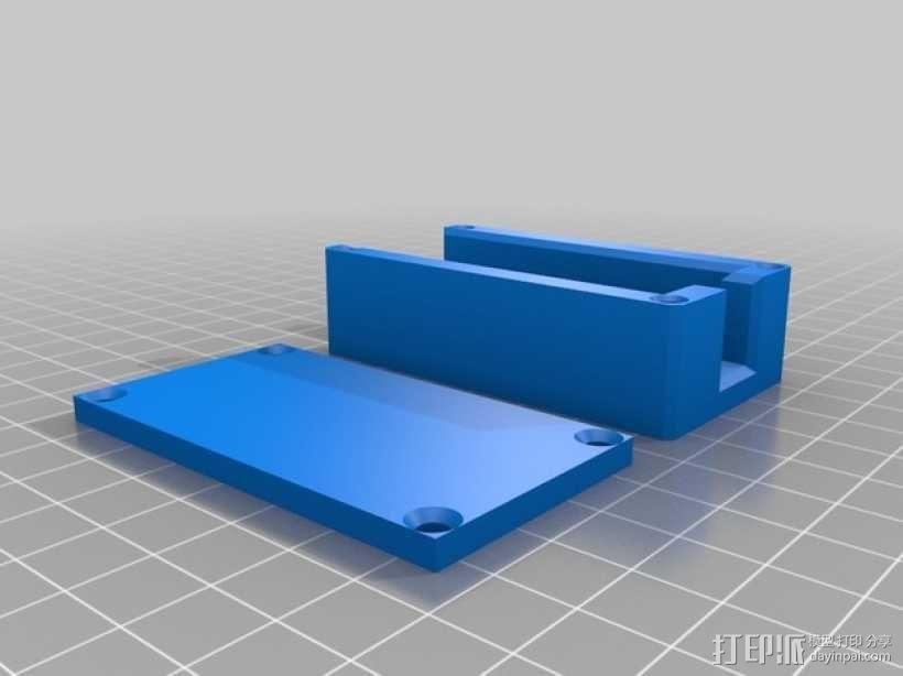 FatShark视频发射机外壳 3D模型  图1