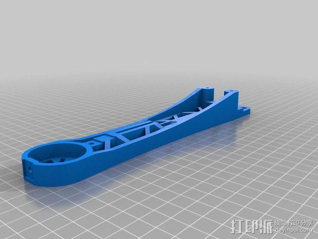 Crossfire 2备用臂 3D模型  图2