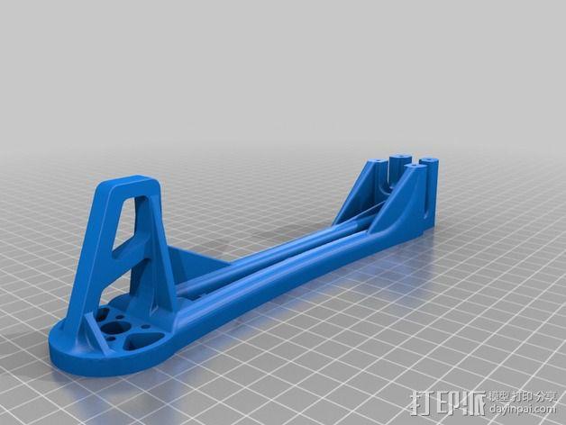 Spyda 500四轴飞行器飞行臂 3D模型  图2