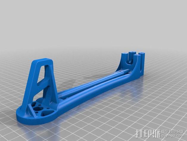 Spyda 500四轴飞行器飞行臂 3D模型  图3