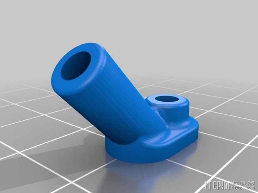 天线支架 3D模型  图3