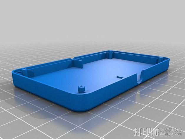 ODROID U3主板外壳 3D模型  图2