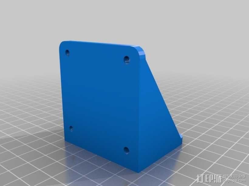 Outrunner长腿机器人 马达支架 3D模型  图3