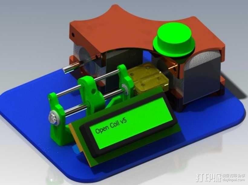 CoilBot智能卷线机 3D模型  图1