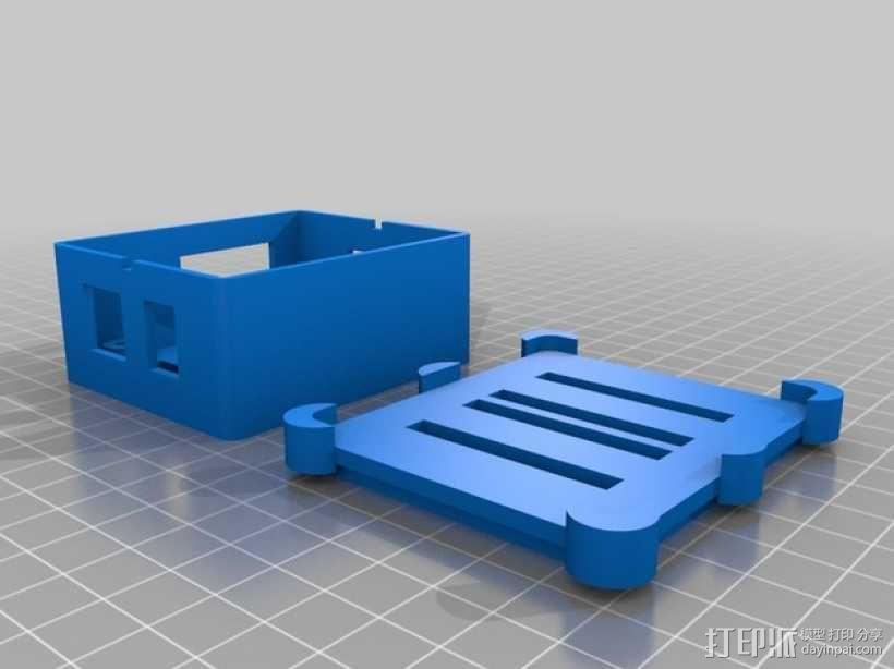 Phidget程序控制器外壳 3D模型  图1