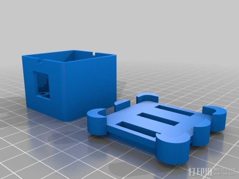 Phidget程序控制器外壳 3D模型  图2