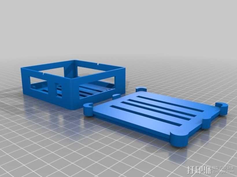 Phidget程序控制器外壳 3D模型  图6