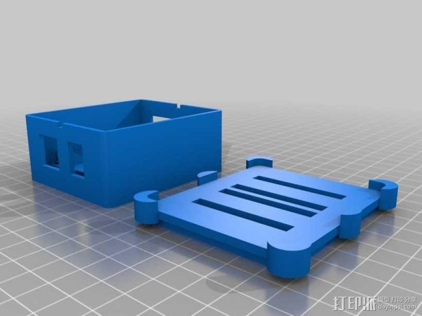 Phidget程序控制器外壳 3D模型  图9
