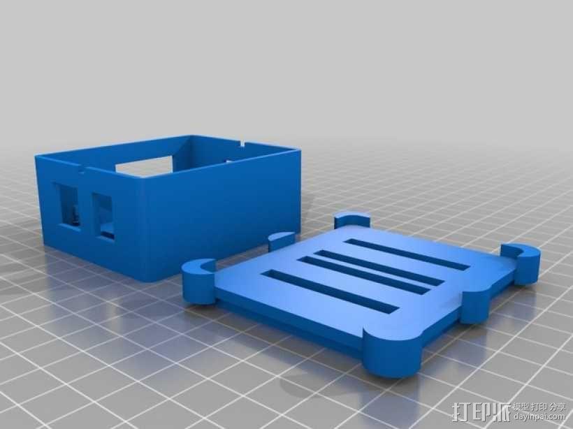 Phidget程序控制器外壳 3D模型  图11