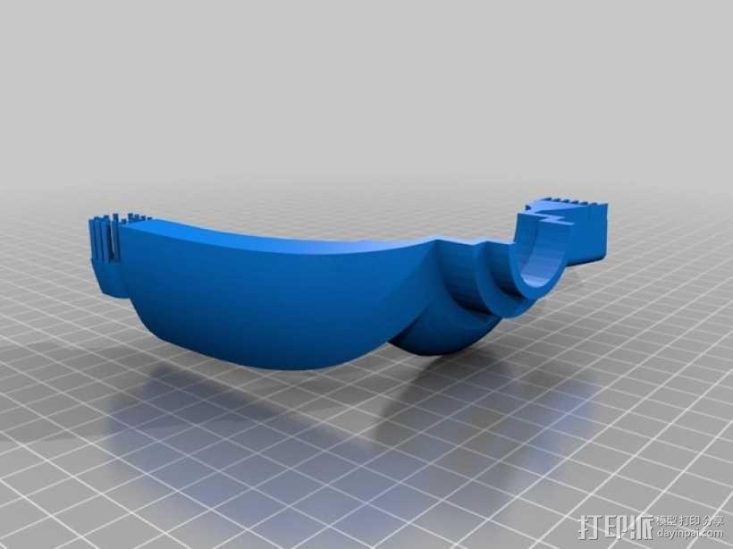 朋克风护目镜 3D模型  图2