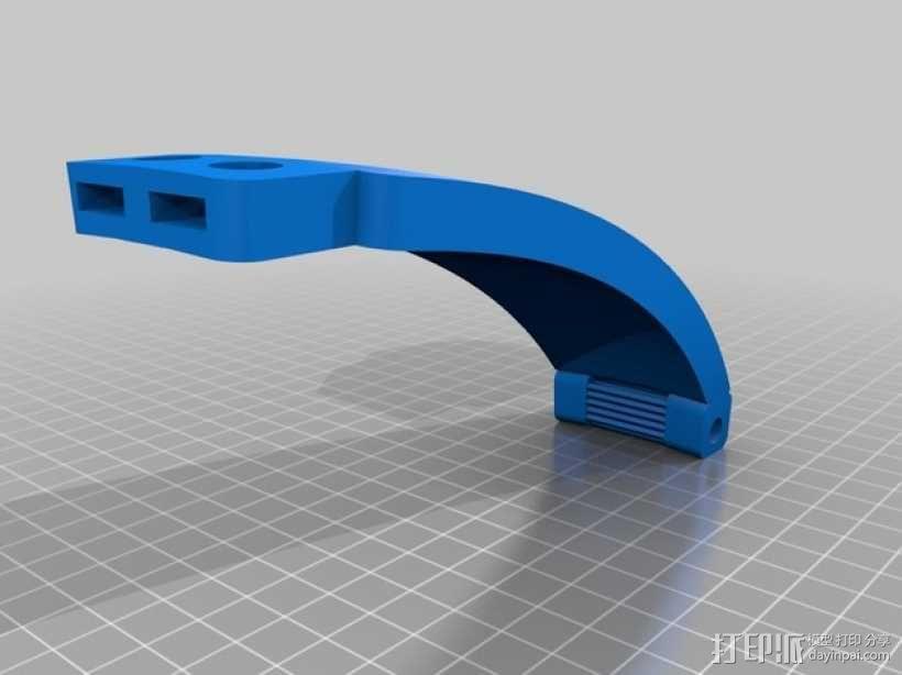 朋克风护目镜 3D模型  图3
