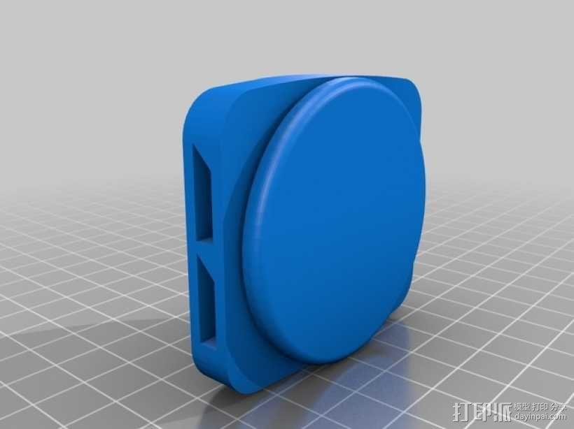 朋克风护目镜 3D模型  图4