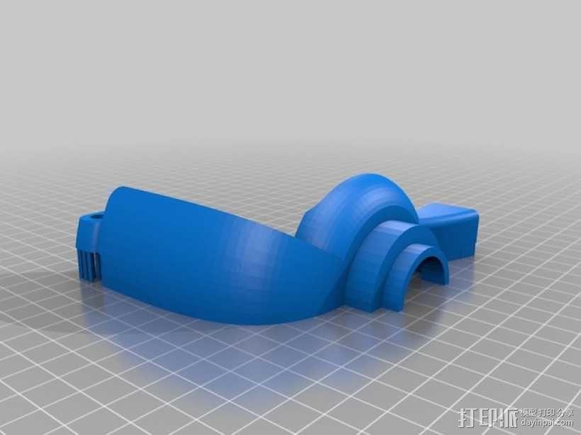 朋克风护目镜 3D模型  图6