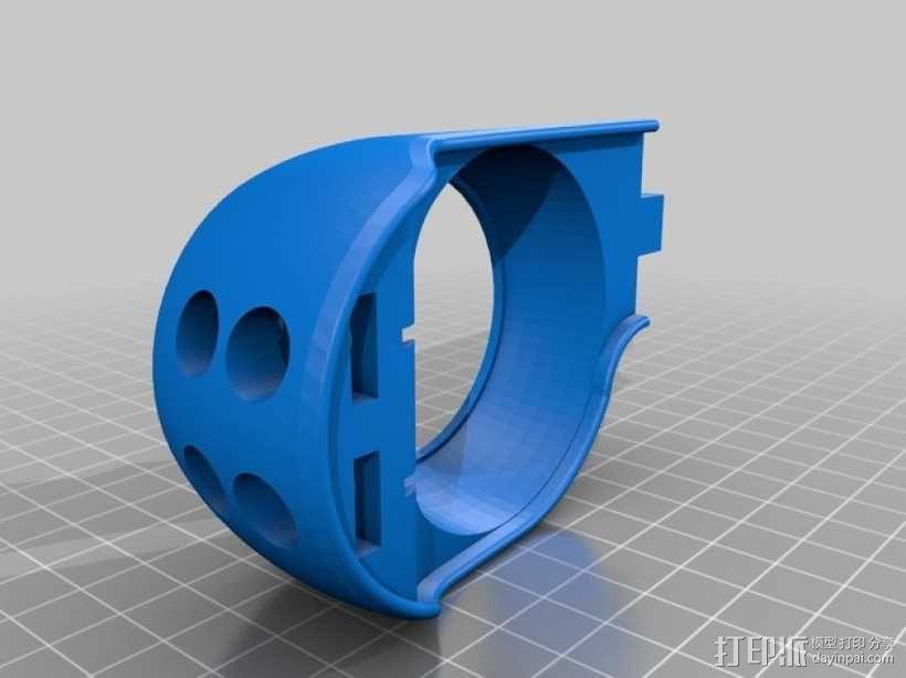 朋克风护目镜 3D模型  图7