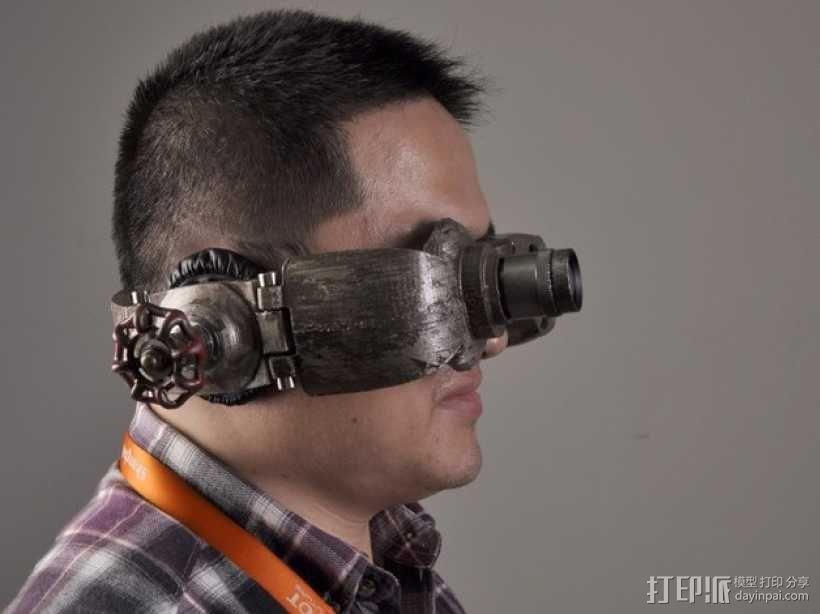 朋克风护目镜 3D模型  图9