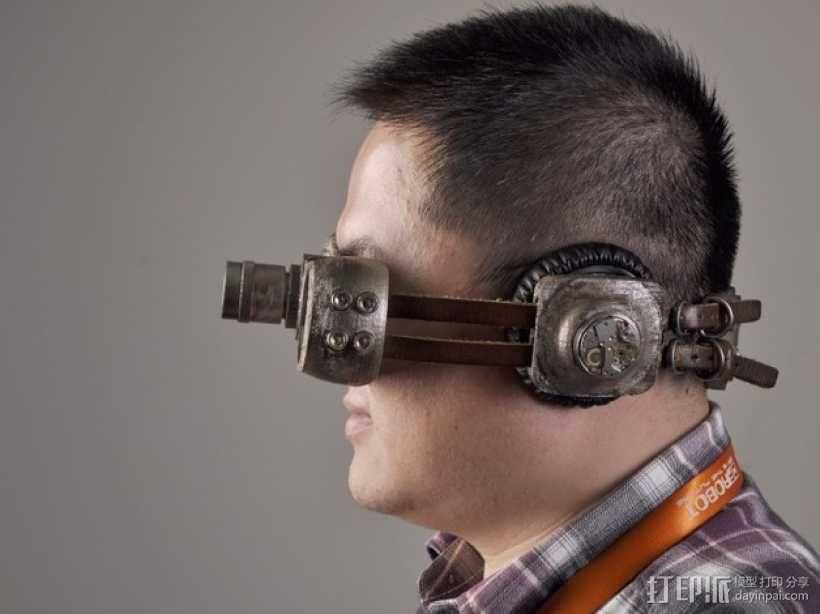 朋克风护目镜 3D模型  图10