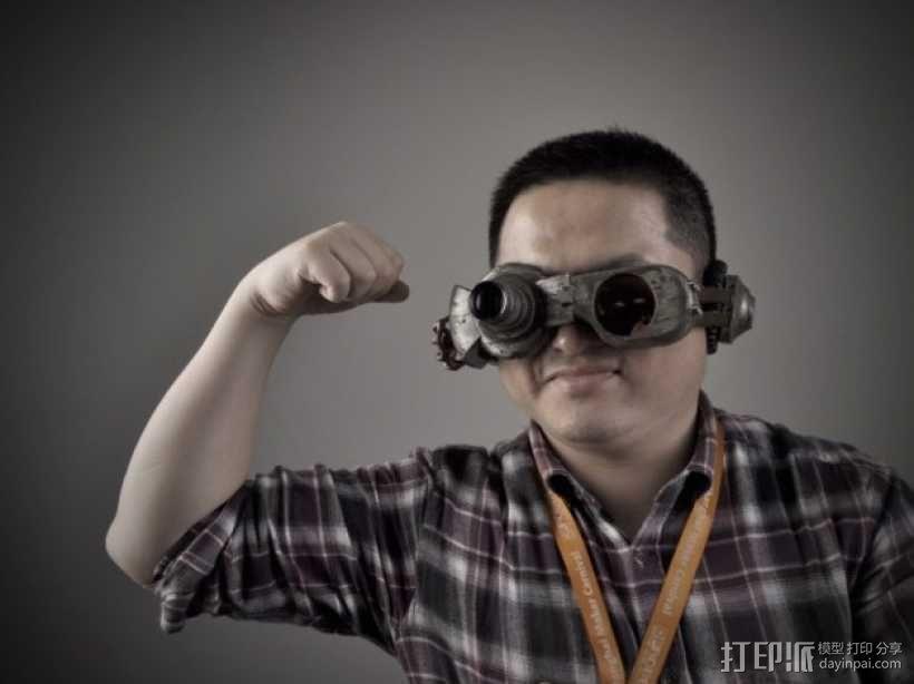 朋克风护目镜 3D模型  图8