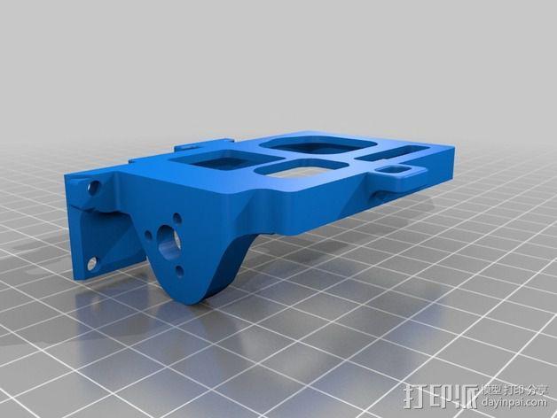 GoPro相机常平架 3D模型  图2