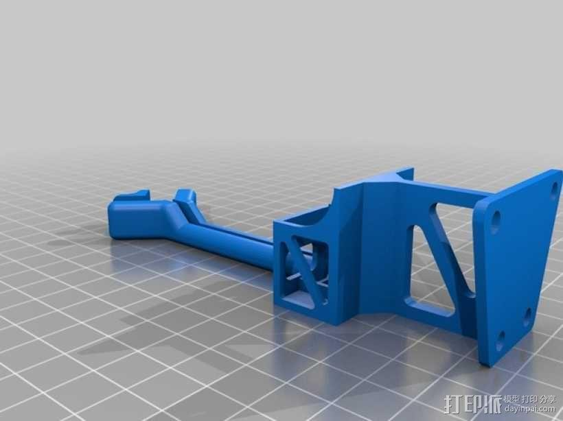Frsky X8R接收机支架 3D模型  图4