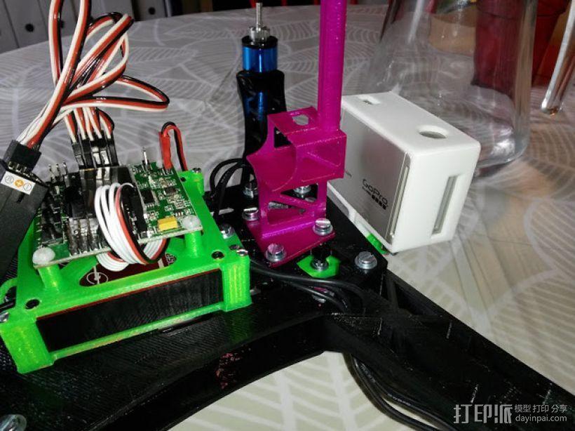 Frsky X8R接收机支架 3D模型  图6